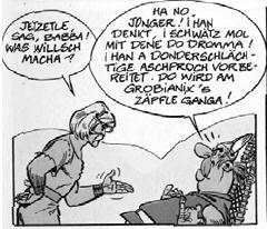 Asterix Auf Schwäbisch