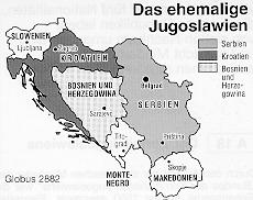 Jugoslawien Karte.Baustein A Zur Jugoslawischen Geschichte